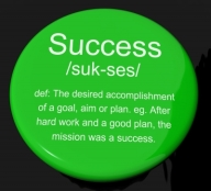 Success - beating your targets