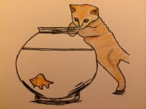 """Goldfish, goldfish, goldfish, goldfish..."""